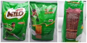 Milo 3.2kg Soft Pack, Malaysia Origin.